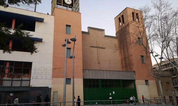 La parroquia de Trintat Vella, en la plaza de la Trinitat / G.A