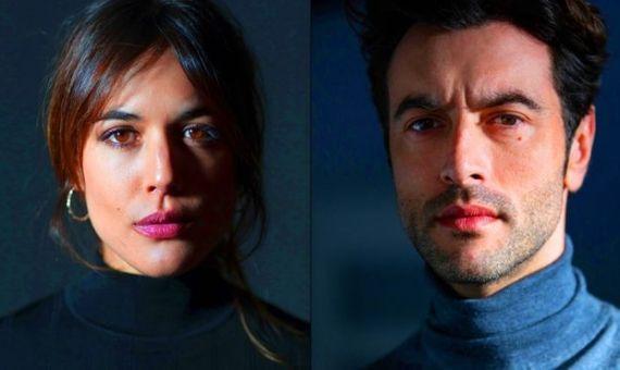 Adriana Ugarte y Javier Rey, juntos en 'Hache' | NETFLIX