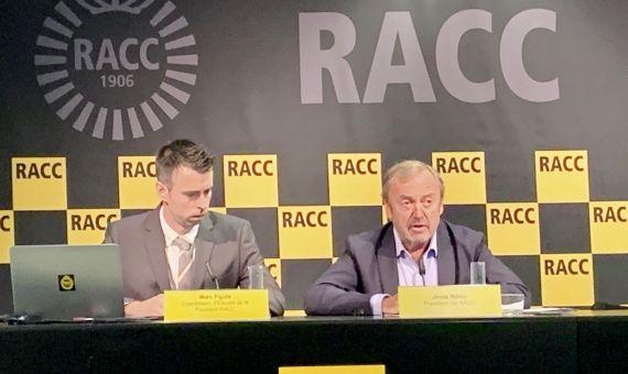 Rueda de prensa del Racc este jueves / EUROPA PRESS