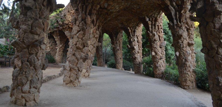 Los tres grandes viaductos servían para llegar a la parte superior del parque, pero también para canalizar agua / XFDC