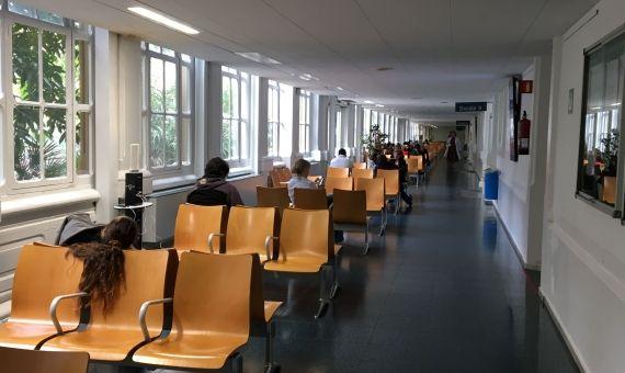 Interior del Hospital Clínic / RP